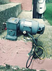 Elektro motor 1,5 KW mono i trof
