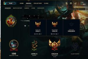 LOL Account - Gold 3