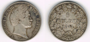 1 gulden 1841
