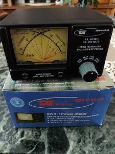 Za Radio KT-Uredaje SWR.Power.Meter,1,8-60MHz-20-200 Wati