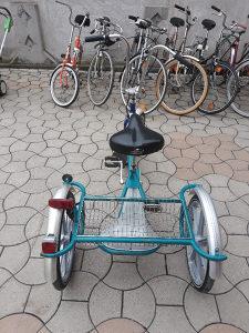 Bicikl sa 3 točka, trokolica,