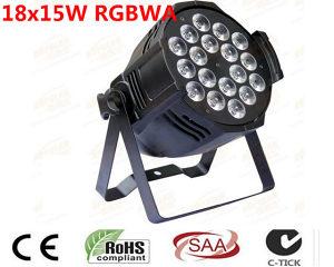LED-PAR-18x15-RGBWA 5in1 NOVO
