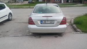 Mercedes e klasa e220 MOGUCA ZAMJENA ZA MANJE