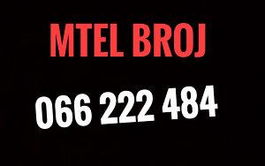 Mtel broj 066 222 484