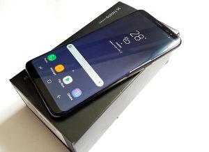 Samsung Galaxy S8 G950F Midnight Black kao NOV