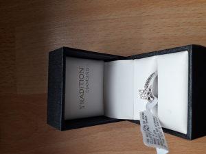 Prsten dijamant