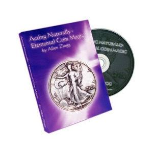 Elemental Coin Magic by Allen Zingg - DVD