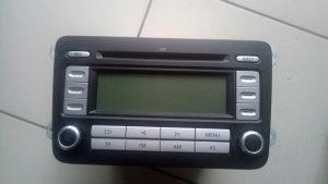 vw radio cd mp3 sa kodom