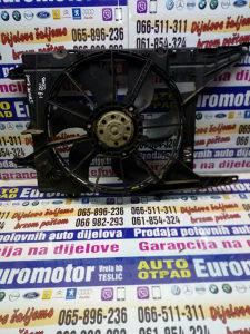 Ventilator klime vode Renault Scenic 1,9dci 01 dijelovi