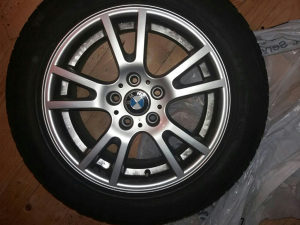 BMW alu felge 17 s ljetnim gumama