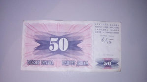 Novac BiH iz 1992