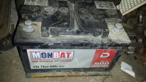 Akumulator 75ah baterija 75ah