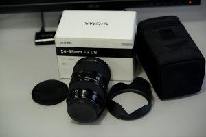 Sigma 24-35mm f/2 ART Canon