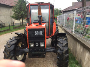 Traktor duplak