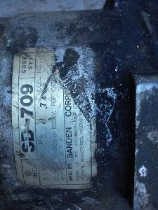 Hladnjak i kompresor klime za passat 3,4