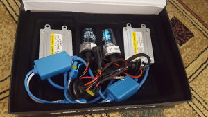H7,H1 xenon set, 55-65 W metalni balasti