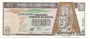 GVATEMALA 0.5 quetzal 1998 Unc