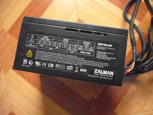 Modularna Napojna ZALMAN 750W