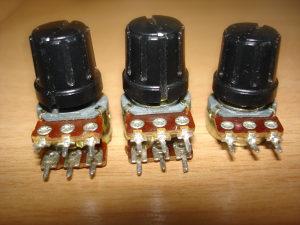 POTENCIOMETRI 3 Komada-25KM
