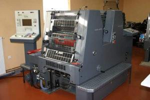Heidelberg GTO ZS 52 Stamparska masina
