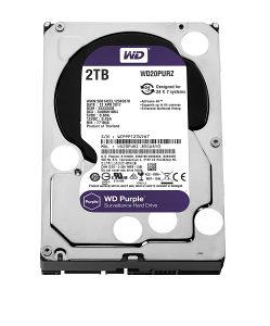WD 2TB Purple SATA3 HDD