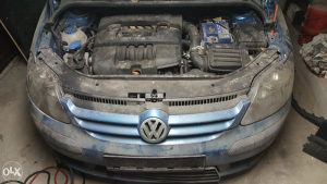 VW GOLF 5 PLUS 1.6 BENZIN PLIN za dijelove