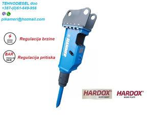 Hidraulični čekić pikamer SB200