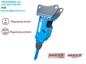 Hidraulični čekić pikamer SB350