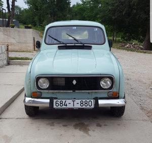 Renault R 4 registrovan 11/18 nove gume