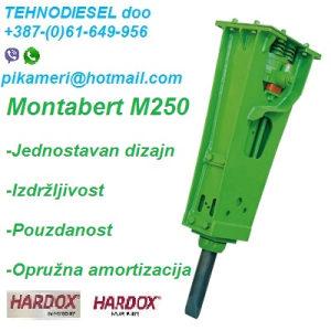 Montabert čekić M250