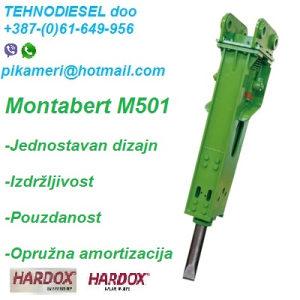 Montabert čekić M501