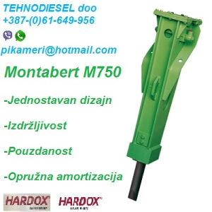 Montabert čekić M750