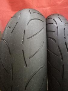 Set guma za motocikli 120/70/17 180/55/17