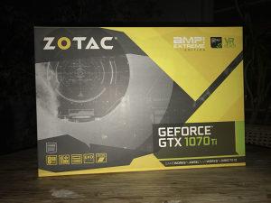 Nvidia Zotac GTX 1070Ti AMP Extreme 1070 Ti