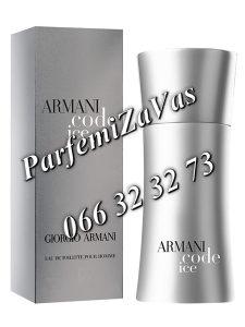 Armani Code Ice 75ml Tester ... M 75 ml