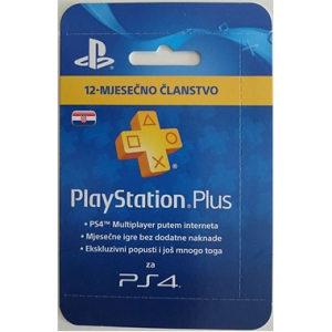 PlayStation Plus 365 dana Hrvatska PS PS4 PSN HR