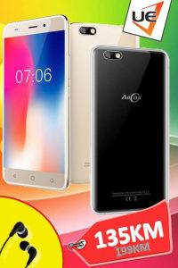 AllCall Smartphone Madrid Black/Gold