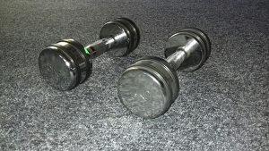 Bučice kromirane profesionalne 5kg 062/546-546