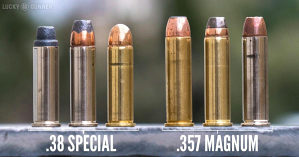 Municija revolver .38 special .357 magnum