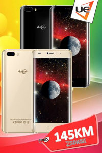 AllCall Smartphone Rio Black/Gold+  POKLON