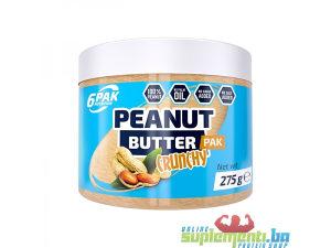 6PAK NUTRITION KIKIRIKI PUTER CRUNCHY 275g /HRSKAVI/