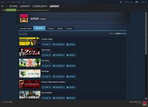 Steam Account sa cs 1.6