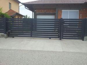 Aluminijske dvorisne ograde i kapije