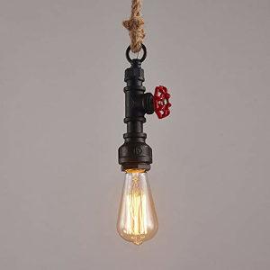 Pipe luster konopac visilica industrijski stil