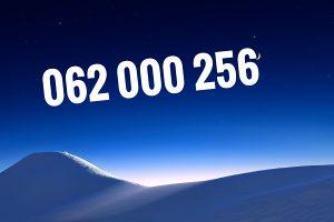 Ultra broj 062 000 256