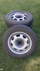 Polovne auto gume na felgama R 13 155/70 Sportiva Lj (4