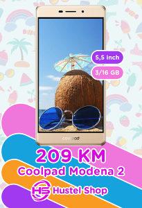 COOLPAD MODENA 2 3GB/16GB GOLD