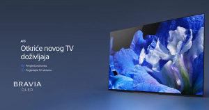 """Sony OLED 4K 55"""" PREMIUM AF8 UHD TV KD55AF8BAEP Android"""