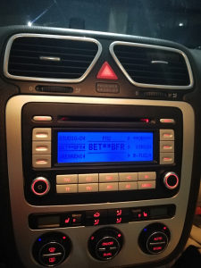 VW RCD 300 Audio Golf 5 Passat 6 6xCD