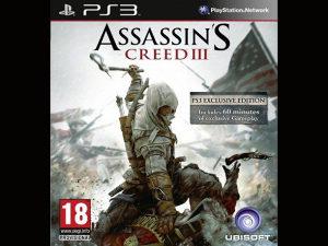 Assassins Creed 3 III Playstation 3 - PS3